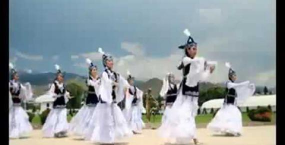 Embedded thumbnail for Beautiful Kyrgyz dance